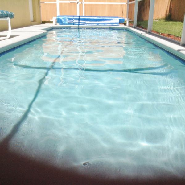 Our pool is south facing and is private with a fenced garden. - Ideal Piece of Paradise close to the Parks - Kissimmee - rentals