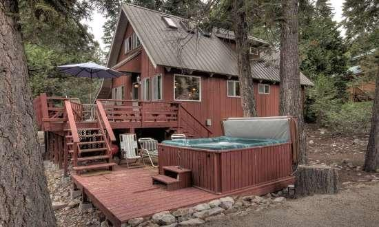 Pfeiffer Dog Friendly Cabin - Hot Tub - Image 1 - Agate Bay - rentals
