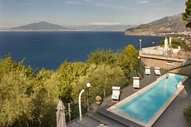 Villa Giada Luxury Sea view and Private Pool! - Image 1 - Sorrento - rentals