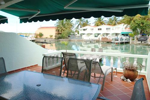 View from patio - Villa 410D, Jolly Harbour, Antigua - Jolly Harbour - rentals