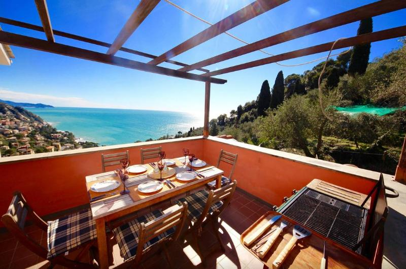 BABY 4BR-garden terrace view by KlabHouse - Image 1 - Zoagli - rentals