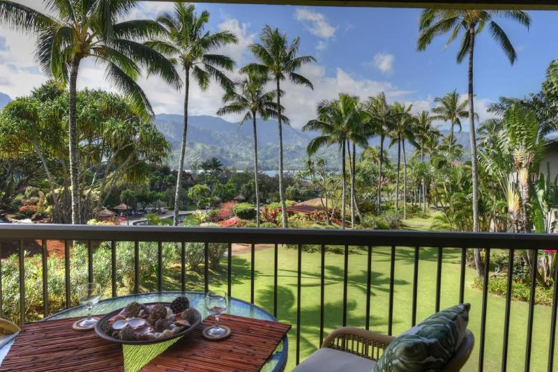 """Magnificent Views""  Hanalei Bay Resort   #1305 - Image 1 - Princeville - rentals"