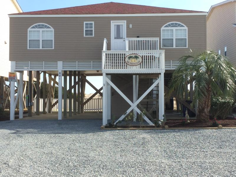 Front Exterior - Lovely oceanside home on America's #1 family beach - Holden Beach - rentals