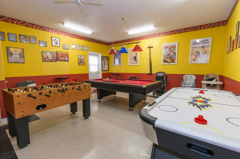 Air-conditioned game-room - Emerald Island Resort's luxury Emerald Magic - Kissimmee - rentals