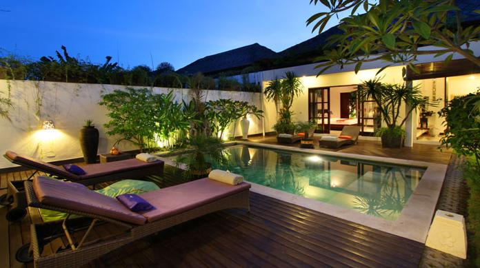 Exotic Villas 4BR 800m From Beach - Image 1 - Kerobokan - rentals