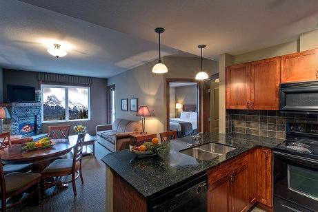 This bright, open plan condo is a pleasure to stay in!  - Canmore Falcon Crest Beautiful 1 Bedroom Condo - Canmore - rentals