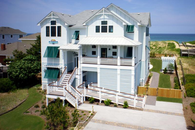 SOCO Located at 6937 Virginia Dare Trail  - SoCo - 8 BR Oceanfront - Heated Pool, Elevator - Nags Head - rentals