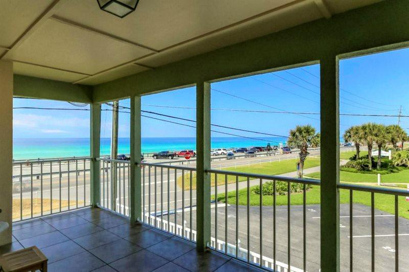 View of Water From Second Floor Balcony - Martinique: 6 Bdrm, Across from Beach! - Destin - rentals