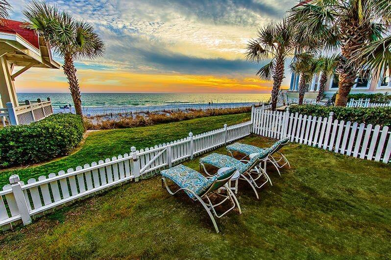 Relax in your backyard while taking in breathtaking views of the beach and water - Surfin'Sea: 5 Bedroom, 5 Bath, Beach Front, Private Pool! - Miramar Beach - rentals