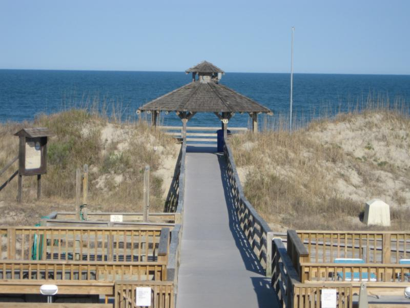 Beach Access, 650 Ft from Villa (and 3 pools + cafe/restaurant (not pictured). - Sweet villa 650 Ft to Ocean - Corolla Light Resort - Corolla - rentals