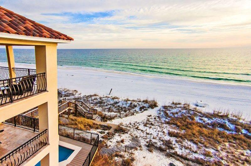 Spectacular Beach Views - Lune Lac: Luxury 5 Bdrm, BEACH FRONT, Private Pool - Destin - rentals