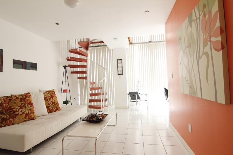 Loft Entry View - Large Two Story Loft One Bedroom Condo - Miami Beach - rentals