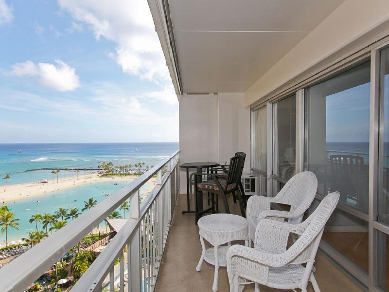 Ocean & Lagoon view - Waikiki Ocean Front Condos - Honolulu - rentals