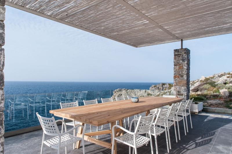 Seafront villa Penelope in Stavros Crete - Villa Penelope with stunning views to the sea - Akrotiri - rentals