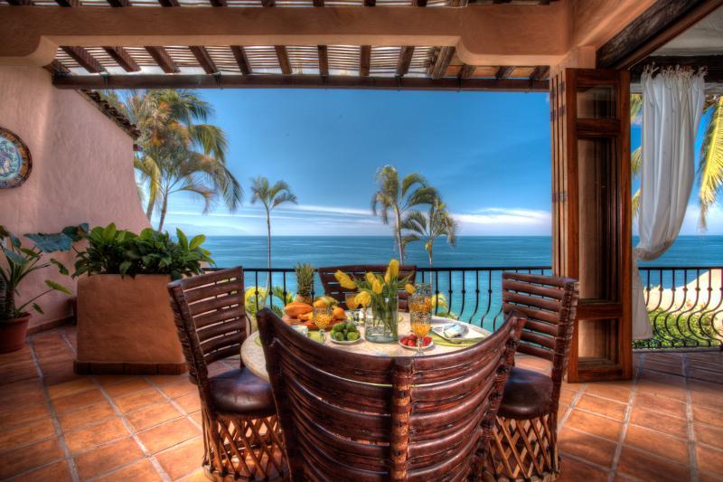 Villa Azul Celeste Stunning Beachfront Villa - Image 1 - Puerto Vallarta - rentals