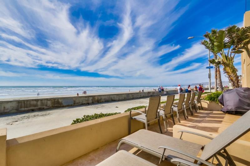 Beautiful Ocean Front 2br+2ba Home! - Image 1 - Pacific Beach - rentals