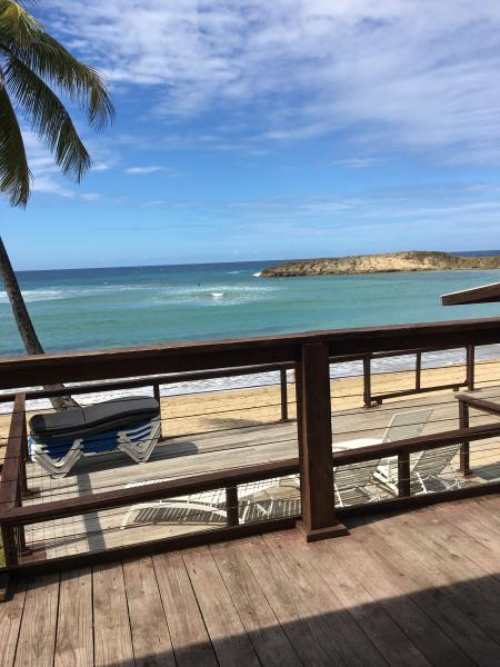 View from terrace - PALMAS BEACH CLUB/ APT #1 - Isabela - rentals