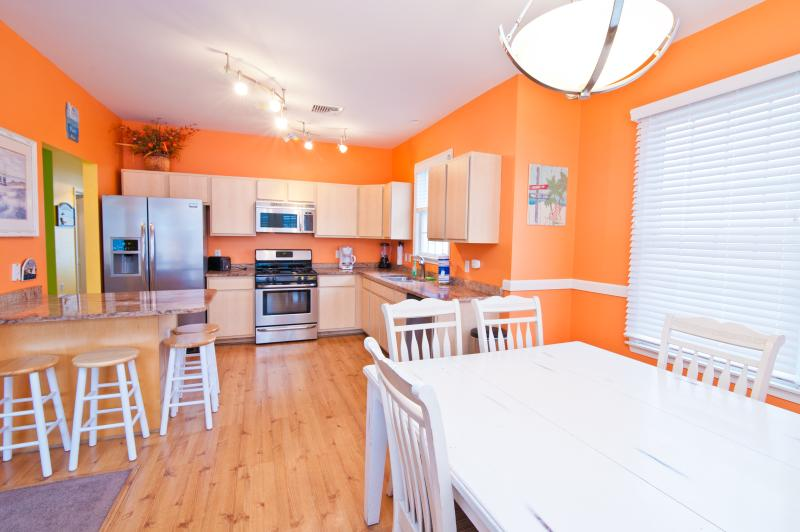 "Exquisite Kitchen Stocked with Essential Cooking and Eating Needs! - The ""Lucky Beach House"" The Most Popular Location! - Atlantic City - rentals"