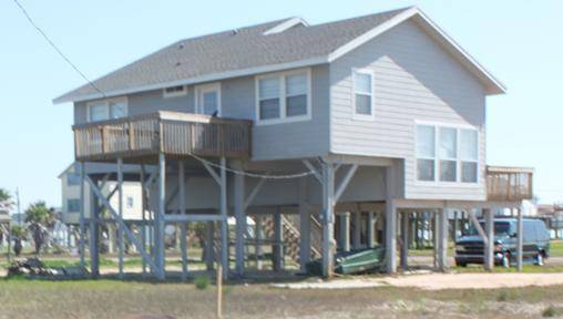 Back of House - Great Beach House in Best Beachside Subdivision - Galveston - rentals