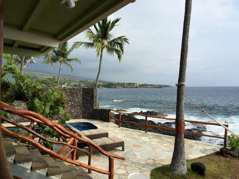 Oceanfront Maluhia Hale- Luxury on the Water! - Image 1 - Kailua-Kona - rentals