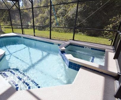 Beautiful 3 bed/ 3 bath with pool & spa - Image 1 - Davenport - rentals