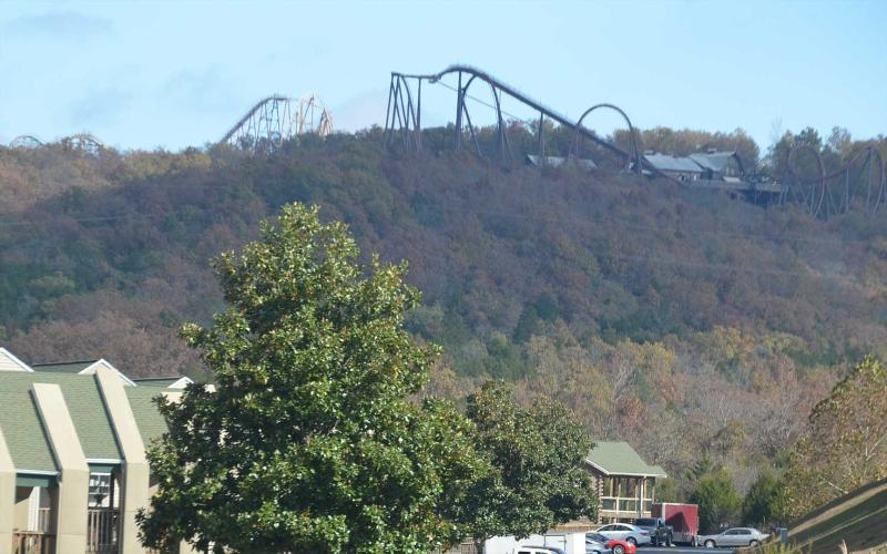 The condos are literally right next door to Silver Dollar City! Best location! - Condo next to Silver Dollar City w/indoor pool! - Branson - rentals