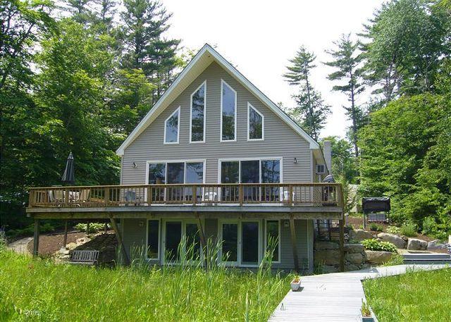 Winnipesaukee Waterfront Home For 8! - Image 1 - Moultonborough - rentals