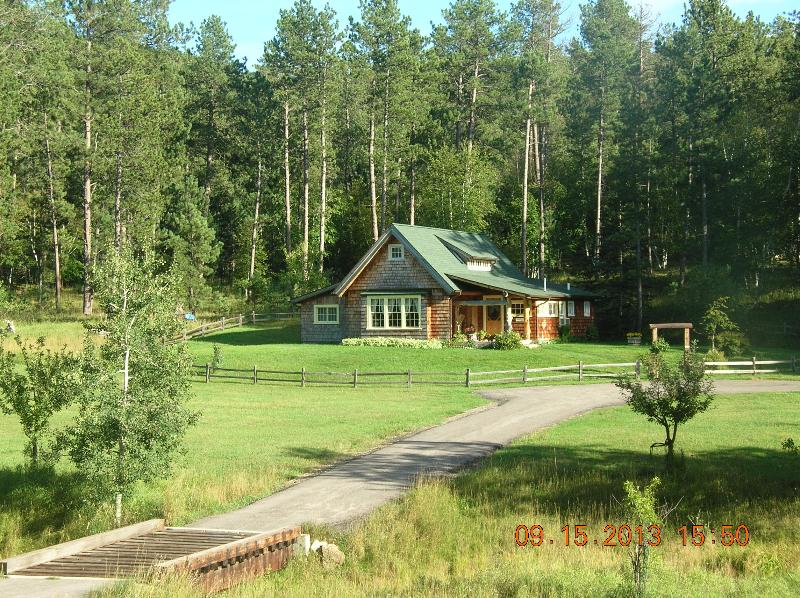 Beautiful, Private Cottage Sitting on 5 Acres in Scenic Vanocker Canyon in the Black Hills! - Little Elk Cottage in Vanocker Canyon - Nemo - rentals