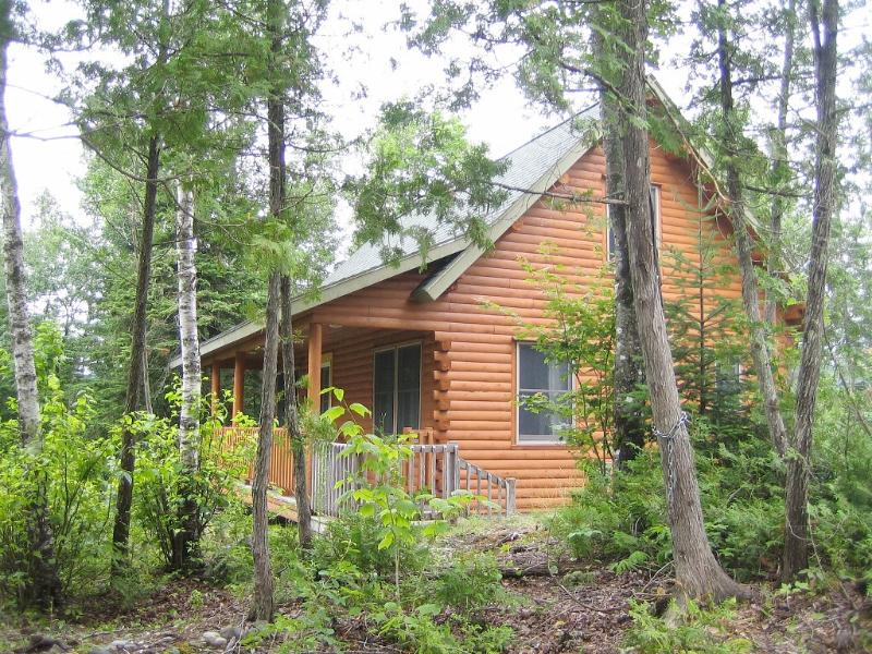 Prong Mountain Cabin - Sited in privacy and overlooking the pond and mountains. - Prong Mountain - Waterfront Privacy, Pristine Lake - Greenville - rentals