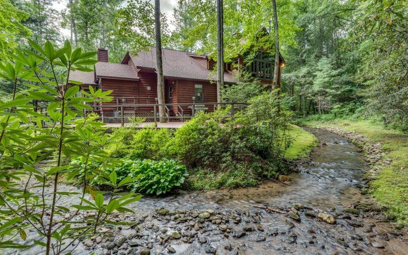 Mountain Waters Lodge - Stunning Home - Image 1 - Ellijay - rentals