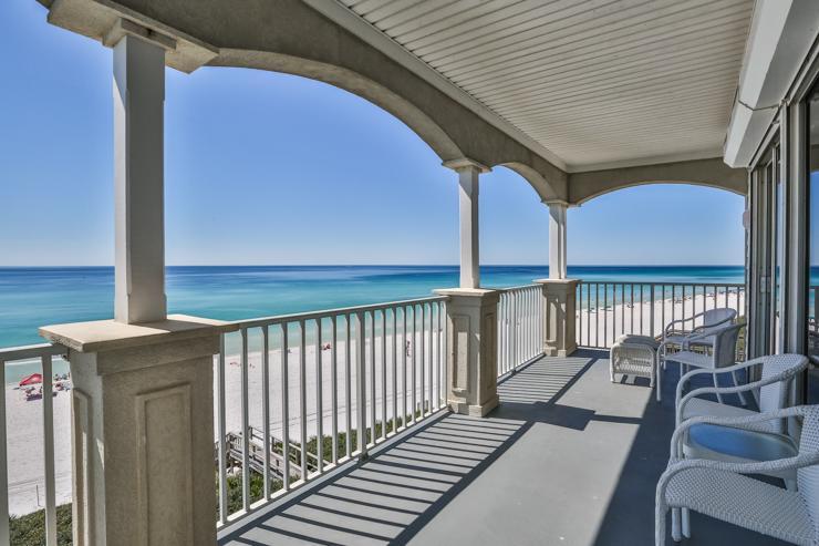 Balcony - SEAVIEW I UNIT 300 - Santa Rosa Beach - rentals