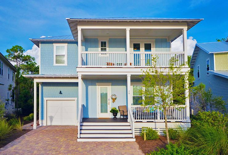 house front view - WHITE SAND REUNION - Santa Rosa Beach - rentals