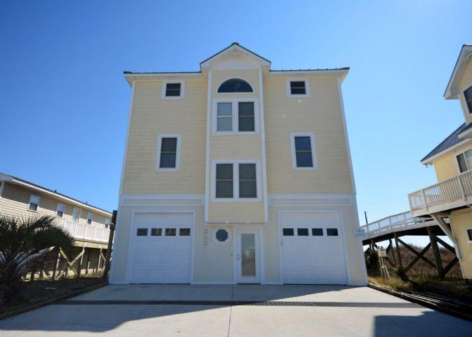 Front of home - The Guest Nest - North Topsail Beach - rentals