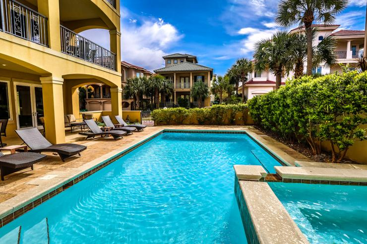 Beautiful pool side view! - Bella Destina - Destin - rentals