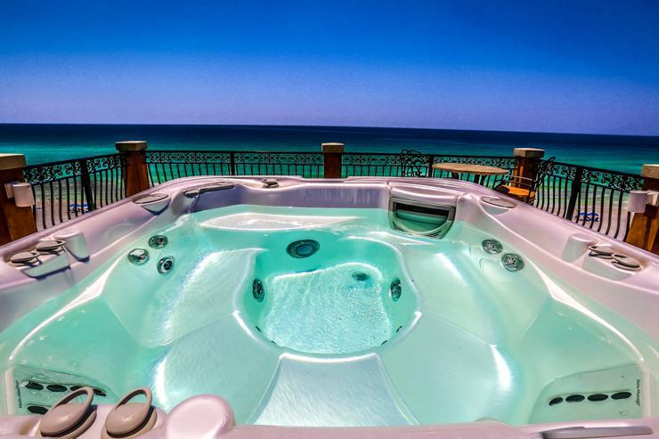 Hot tub roof view - Casa de Cielo - Destin - rentals