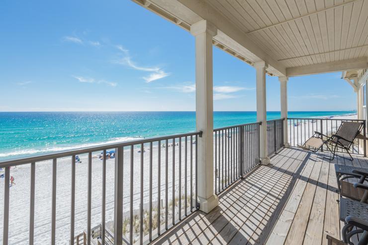 Balcony - Las Olas - Miramar Beach - rentals