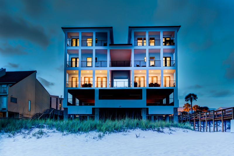 House View from Beach - Soleil et Mer - Destin - rentals
