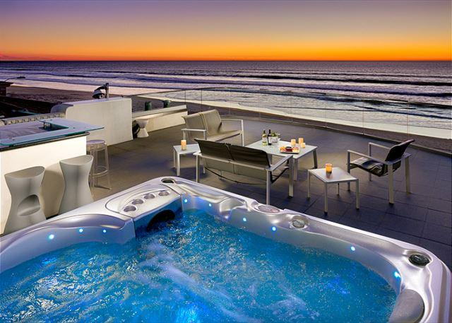 Rooftop hot tub with amazing views! - Image 1 - San Diego - rentals