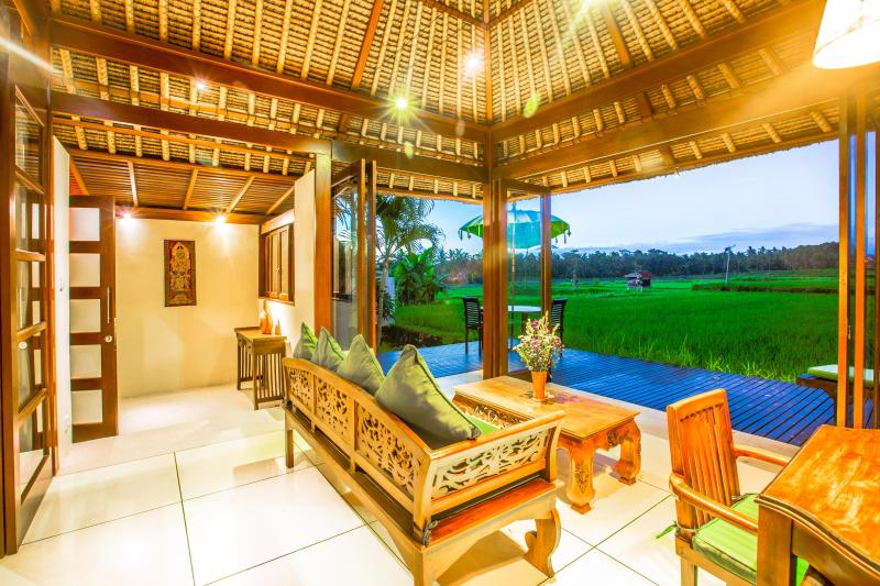 The amazing view from Villa Asmara! - Amazing RiceField Views Villa Asmara ONLY $99! - Ubud - rentals