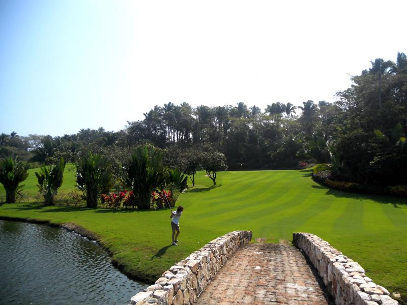 Las Huertas Golf Course just across the street - Villa Esperanza - San Pancho - rentals