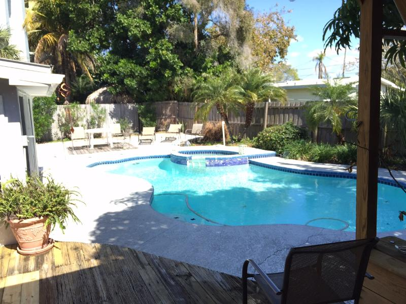 Cool POOL Warm SAND Hot SUN Private Home IR Beach - Image 1 - Indian Shores - rentals