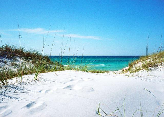 The Emerald Coast - just beautiful! - Extra Large Ground Beach Level Patio & Gulf Front. Two Bedroom, Two Full Bath - Fort Walton Beach - rentals