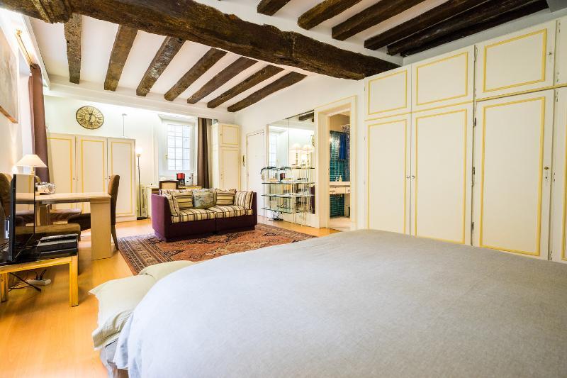 The Master Bedroom - Great value, prime location in central Paris - Paris - rentals