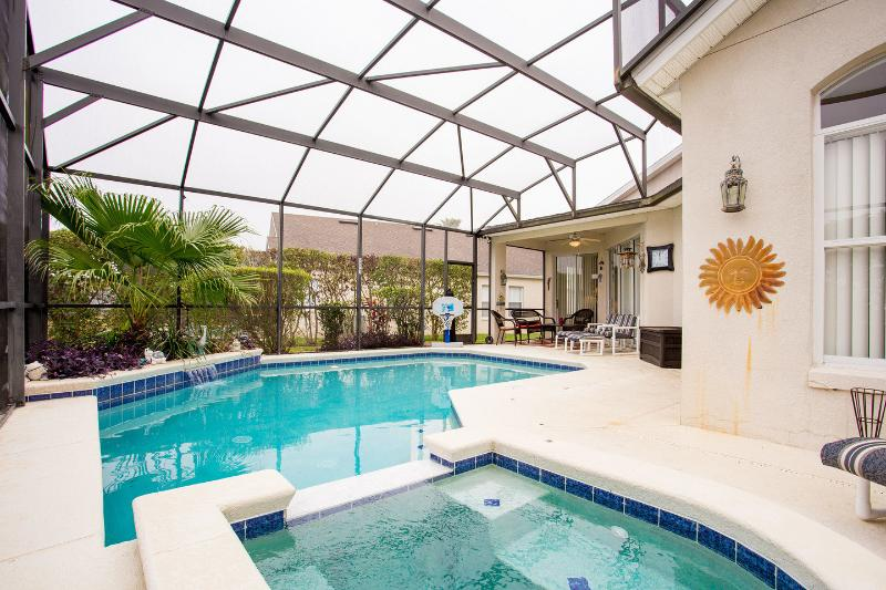 The Pool and Spa - Welcome to your Florida Escape - Davenport - rentals