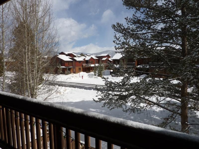View of the Continental Divide from our private balcony - Heart of Frisco Condo - Frisco - rentals