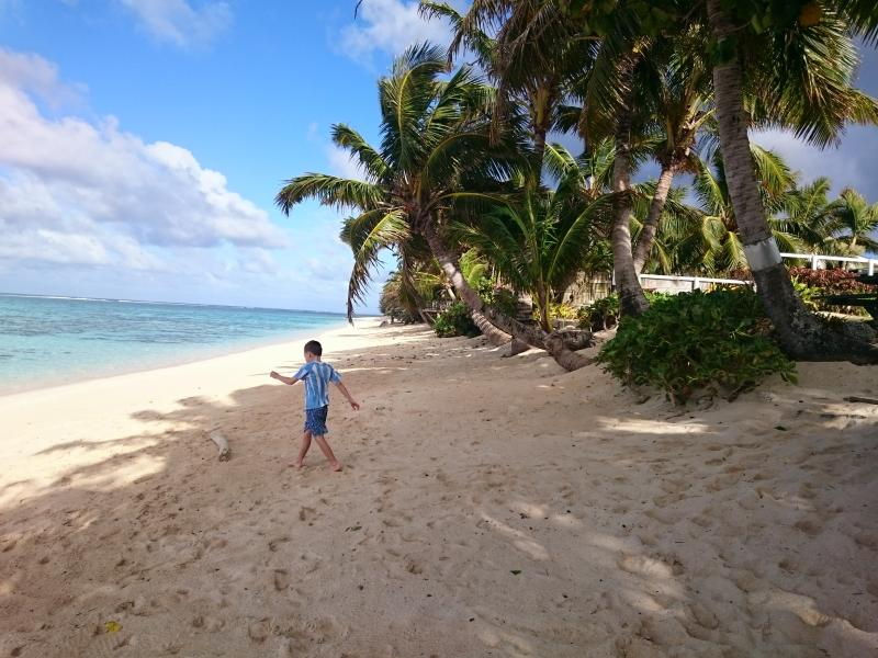 ANNS BEACH HOME Right on the Best Rarotonga Beach - Image 1 - Rarotonga - rentals