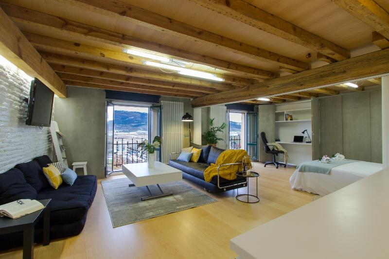 Luxury loft with views in Pamplona's downtown - Image 1 - Pamplona - rentals