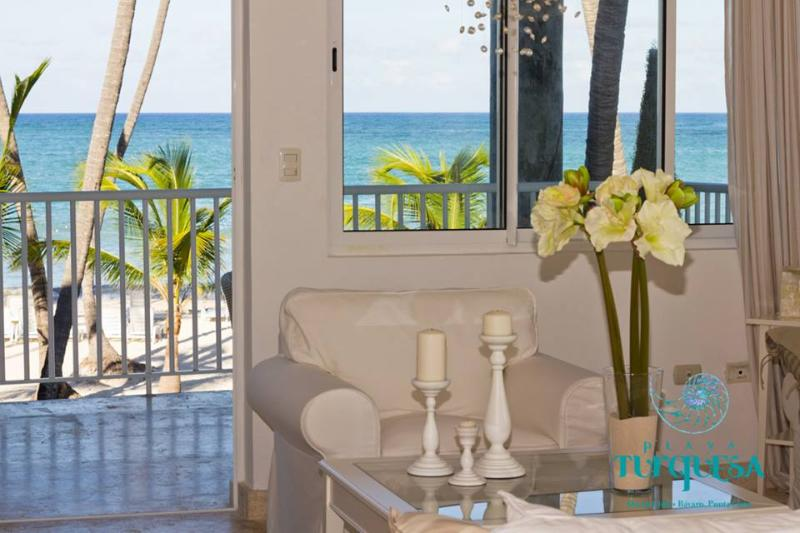 amazing views from one of our top selling condos - Playa Turquesa Ocean Front 3 Bedroom - Bavaro - rentals