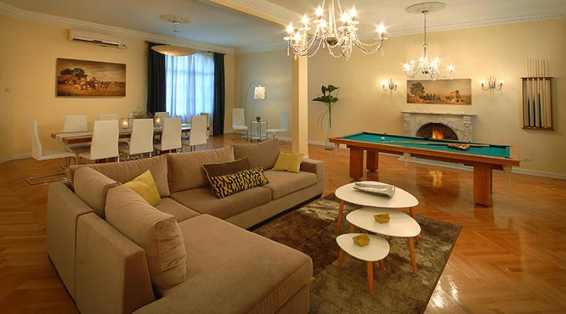 living - HUGE 5 bedroom Palace in Recoleta ! - San Carlos de Bariloche - rentals