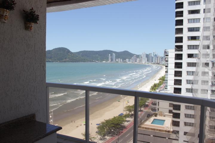 View from the balcony - Apartament with great ocean view - Balneario Camboriu - rentals